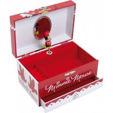 Boîte à bijoux à musique Minnie