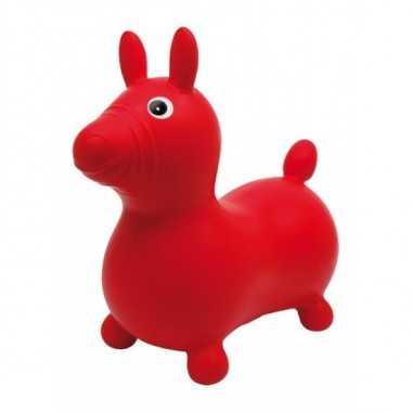 Ballon sauteur cheval rouge legler