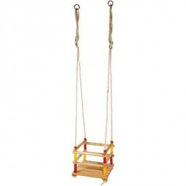Balançoire pour les petits en bois