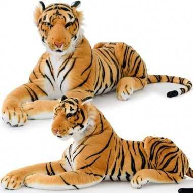 Peluche Tigre 90cm couché