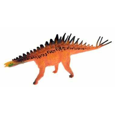 Spinosaurus dinosaure orange