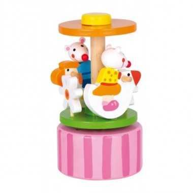 Boite a musique carrousel souris dansantes
