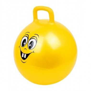 Ballon sauteur rond jaune legler