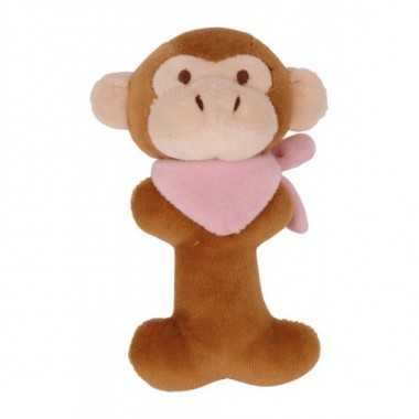 Hochet peluche animal singe