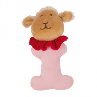 Hochet peluche animal mouton