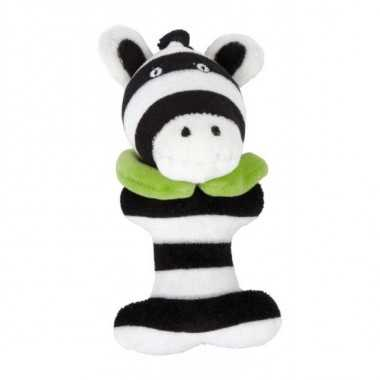 Hochet peluche animal zebre