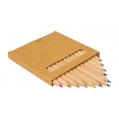Crayons de couleurs en bois
