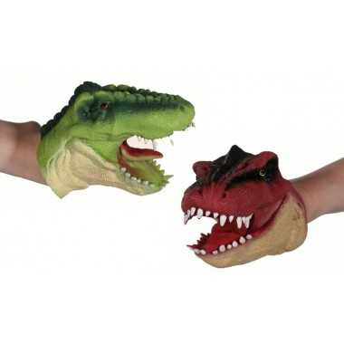 Marionnette silicone T-REX dinosaure
